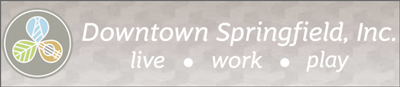 Downtown Springfield, Inc., a volunteer-driven, not-for-profit organization formed in 1993, works to preserve, promote and enhance Springfield's historic central business district. Its mission is to help make downtown Springfield an ideal place to shop, work, visit, invest, and live.